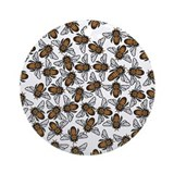 Honeybee Swarm Ornament (Round)