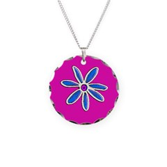 Pink Floral Mother's Day Lullaby Necklace