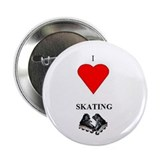 "I Love Skating 2.25"" Button (100 pack)"