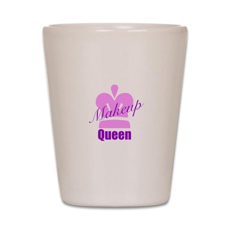 Makeup Queen Shot Glass