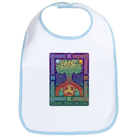 Celtic Tree of Life Bib
