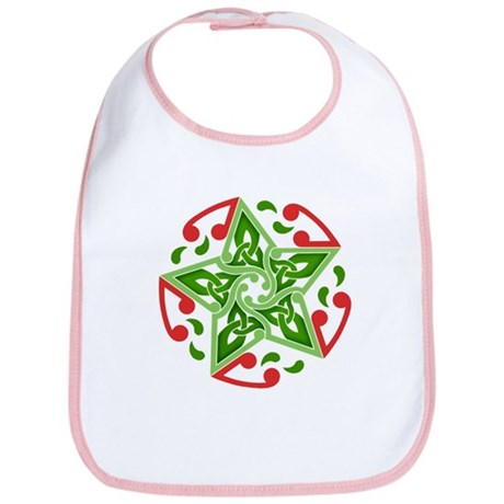 Celtic Christmas Star Bib