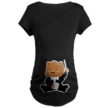 Orchestra Conductor Pregnancy Music T-Shirt