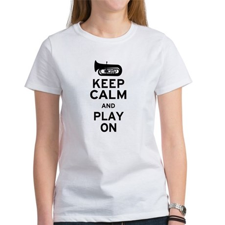 Keep Calm Tuba Women's T-Shirt