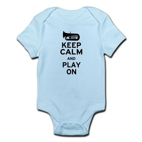 Keep Calm Tuba Infant Bodysuit