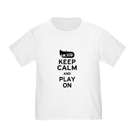 Keep Calm Tuba Toddler T-Shirt