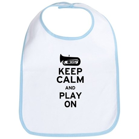 Keep Calm Tuba Bib