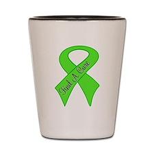Find a Cure Lymphoma Shot Glass