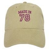 Made in 78 Baseball Cap