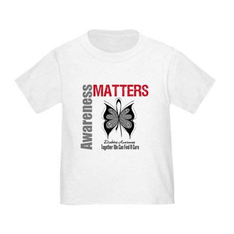 Diabetes Awareness Matters Toddler T-Shirt
