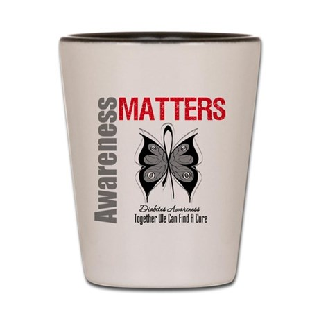 Diabetes Awareness Matters Shot Glass