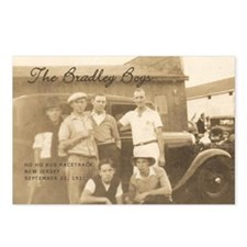 Bradley Boys Postcards (Package of 8)