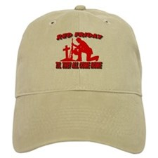red friday prayer Baseball Cap