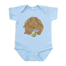 """""""Hoppy Easter!"""" Infant Bodysuit"""