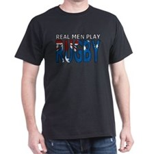 Real Men Rugby australia T-Shirt
