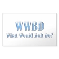 WWBD Rectangle Decal