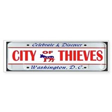 BRIBE CITY Bumper Sticker