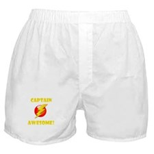 Captain Awesome! Boxer Shorts