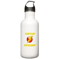 Captain Awesome! Sports Water Bottle