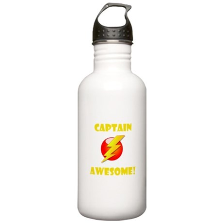 Captain Awesome! Stainless Water Bottle 1.0L