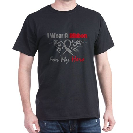 Diabetes I Wear A Ribbon Dark T-Shirt