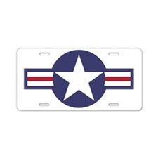 USA Roundel Aluminum License Plate