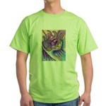 Valley Cat 1 Green T-Shirt