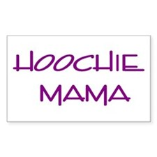 Hoochie Rectangle Decal