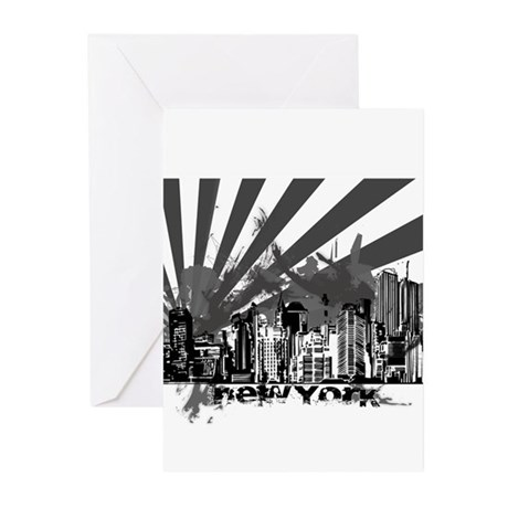 New York Style Greeting Cards (Pk of 10)