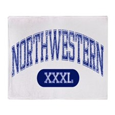 Northwestern Throw Blanket