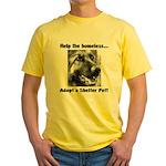 Help The Homeless Yellow T-Shirt