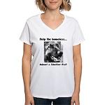 Help The Homeless Women's V-Neck T-Shirt