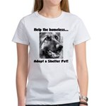 Help The Homeless Women's T-Shirt