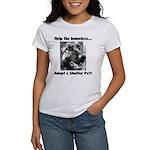 Help The Homeless Women's T-Shirt