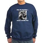 Help The Homeless Sweatshirt (dark)