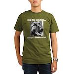 Help The Homeless Organic Men's T-Shirt (dark)