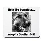 Help The Homeless Mousepad