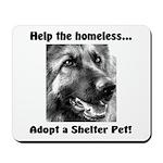 Help The Homeless Mousepad