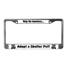 Help The Homeless License Plate Frame