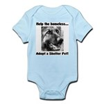 Help The Homeless Infant Bodysuit
