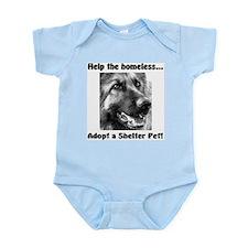 Help The Homeless Infant Bodysuit