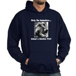 Help The Homeless Hoodie (dark)