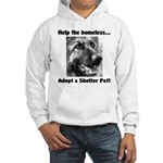 Help The Homeless Hooded Sweatshirt