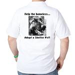 Help The Homeless Golf Shirt
