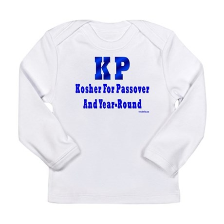 Kosher 4 Passover Long Sleeve Infant T-Shirt