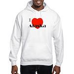 I Love Alaska! Hooded Sweatshirt