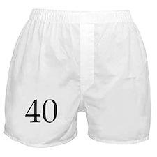 40 Boxer Shorts