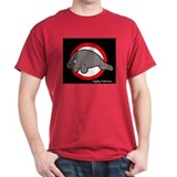 raging manatee Black T-Shirt