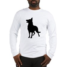 Black German Shepherds Rock Long Sleeve T-Shirt