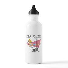 Fire Island Girl Water Bottle